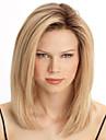 Syntetiska peruker Rak Rak Peruk Blond Blond Syntetiskt hår Dam Värmetåligt Blond