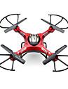 RC Drönare JJRC H8D 4 Kanaler 6 Axel 2.4G Med HD-kamera 2.0MP 2.0MP Radiostyrd quadcopter FPV LED Lampor Retur Med Enkel Knapptryckning