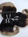 4 paket Brasilianskt hår Kroppsvågor Obehandlad hår Nyans 8 tum Nyans Hårförlängning av äkta hår Heta Försäljning Människohår förlängningar / 10A