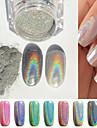 1st Glitter Nagelsmycken Till Fingernageö Tånagel Vackert nagel konst manikyr Pedikyr Glitters / Chic och modern / Trendig / skimrande