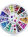 1 pcs Paljetter nagel konst manikyr Pedikyr Dagligen Glitters / Mode