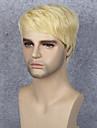 Syntetiska peruker Rak Rak Peruk Blond Korta Blond Syntetiskt hår Dam Blond StrongBeauty