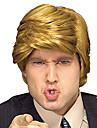 Syntetiska peruker Vågigt Vågigt Peruk Blond Blond Syntetiskt hår Blond