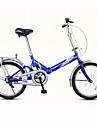 Hopfällbar Cykel Cykelsport 1 hastighet 20 tum V-broms Vanlig Viker Vanlig Stål