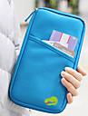 Travel Organizer / Reseplånbok / Pass- och ID-hållare Stor kapacitet / Vattentät / Bärbar för Kläder Tyg / Enfärgad Resor
