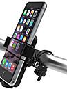 Mobilfäste till cykel Justerbara Ultra Lätt (UL) Anti-halk för Racercykel Mountain Bike ABS iPhone X iPhone XS iPhone XR Cykelsport Svart 2 pcs