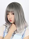 Lolita Cosplay-peruker Dam 16 tum Värmebeständigt Fiber Grå Anime peruk