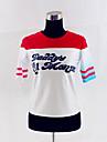 Självmordsgrupp Superhjältar Harley Quinn Cosplay Kostymer / Dräkter Dam Film-cosplay Vit T-shirt Jul Halloween Nyår Cotton