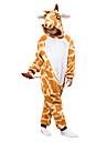 Barn Kigurumi-pyjamas Giraff Onesie-pyjamas Polär Ull Cosplay För Pojkar och flickor Pyjamas med djur Tecknad serie Festival / högtid Kostymer