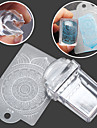 1SET Stamper & Scraper Mall nagel konst manikyr Pedikyr Mode Dagligen / Silikon / Plast