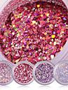 1 pcs Glitter & Poudre / Paljetter / Puder Glitters / Klassisk Dagligen