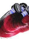 Brasilianskt Remy hår Fläta av remy-människohår Ret Hårförlängning av äkta remy-hår