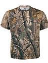Herr Jakt-T-shirt med kamouflagemönster Utomhus Svettavvisande Sommar Kamouflage T-shirt Överdelar Bomull Terylen Kortärmad Camping Jakt Klättring
