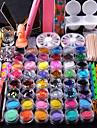 spik dekorationer fin metall glitter spikremsa 2000pc väska blandad rhinestone för spik tips tooks kit nagel spik nagel spik