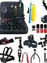 Tillbehörs Kit Anti-Stöt Allt-i-ett 37 pcs För Actionkamera Gopro 5 Xiaomi Kamera Gopro 4 Gopro 3 Gopro 2 Skidåkning Jakt och Fiske Bergsklättring Plast Nylon Aluminium / Gopro 1 / Sport DV / SJ5000
