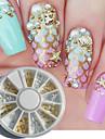 1 pcs Nail Art Kit Till nagel konst manikyr Pedikyr Dagligen Metallisk / Mode