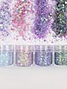 10ml Glitter & Poudre / Paljetter / Puder Glitters / Klassisk Dagligen