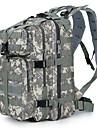 30 L Ryggsäckar Ryggsäckar till dagsturer Militär taktisk ryggsäck Kompakt Utomhus Camping Resa Skola Duk Tre Sand Färg digital Desert python Svart