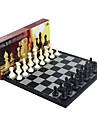 Brädspel Schackspel Schack Professionell Magnet Indragbart Plast Klassisk & Tidlös Chic och modern 1 pcs Barn Vuxna Pojkar Flickor Leksaker Present