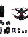 Drönare Walkera Runner250(R) 6CH 3 Axel Med kamera Styra Kameran GPS-positionering Med kameraRadiostyrd Quadcopter Fjärrkontroll Kamera