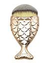 Professionell Makeupborstar Foundationborste 1pcs Resan Professionell Begränsar bakterier Syntetiskt Hår / Artificiella Fiber-borstar Harts Sminkborstar för