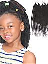 Hår till flätning Senegal twist Flätor Hårförlängningar av äkta hår 100% kanekalon hår Kanekalon 81 rötter Hårflätor Dagligen