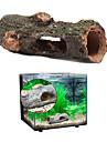 Akvarium Akvariedekorationer Fiskskål Ornament Slangar & Tunnlar Brun Giftfri och smaklös Resin 1 st
