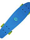 22,5 Inch kryssnings skateboarden PP (Polypropen) ABEC-7 Professionell Grön / Blå / Rosa