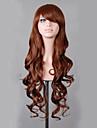 Syntetiska peruker / Kostymperuker Vågigt Kardashian Stil Utan lock Peruk Röd Blond Röd Rosa Syntetiskt hår Dam Röd / Blond / Rosa Peruk Väldigt länge hairjoy / Brun