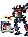 GUDI Robotar Leksaksbilar Byggklossar 377 pcs Krigare Maskin Robotar kompatibel Legoing omvandlings Kreativ Häftig Klassisk & Tidlös Elegant & Lyxig Glamorös & Dramatisk Pojkar Flickor Leksaker
