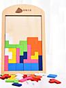 Tetris Byggklossar Träpussel 1 pcs Klassisk Pojkar Leksaker Present