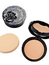 Makeup Set Puder Pressat puder Torr Dækning / Concealer / Naturlig Ansikte Smink Kosmetisk