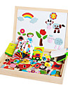 Teckningsleksak Leksaksritplattor Utbildningsleksak Leksaker Magnet Barns Barn 1 Bitar