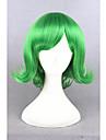 Cosplay Peruker Syntetiska peruker Kostymperuker Rak Rak Peruk Korta Grön Syntetiskt hår Dam Grön
