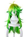 Cosplay Cosplay Cosplay-peruker Herr Dam 32 tum Värmebeständigt Fiber Grön Animé