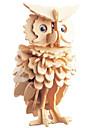 3D-pussel Pussel Träpussel Uggla GDS (Gör det själv) 1 pcs Barn Vuxna Unisex Pojkar Flickor Leksaker Present