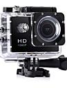 CA7 vlogging Vattentät / Multifunktion / Bred vinkel 32 GB 60fps / 120fps / 30fps 12 mp 1920 x 1080 pixel 2 tum CMOS Bildsekvensläge / Time lapse-fotografering 30 m
