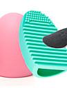 Professionell Makeupborstar Andra borstar 2pcs Bärbar Resan Miljövänlig Professionell syntetisk Hypoallergenisk Begränsar bakterier Sminkborstar för