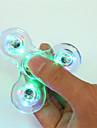 Hand spinne Handspinners Hand Spinner för att döda tid Stress och ångest Relief Focus Toy LED Spinner Plast Klassisk 1 pcs Barn Vuxna Pojkar Flickor Leksaker Present / LED ljus
