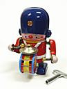 Robotar Uppvridbar leksak Maskin Robotar Trumset Metallisk Järn Vintage 1 pcs Barn Vuxna Pojkar Flickor Leksaker Present