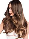 1 Bundle Indiskt hår Stora vågor Äkta hår slingat hår 10-18 tum Hårförlängning av äkta hår Heta Försäljning Människohår förlängningar / 8A