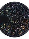 1 pcs Paljetter nagel konst manikyr Pedikyr Dagligen Glitters / Neon & Bright / Mode / Akrylfiber / Metall