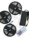 ZDM® 15m Light Sets 450 LEDs 5050 SMD 10mm RGB Waterproof / Remote Control / RC / Cuttable 100-240 V / IP65 / Dimmable / Linkable / Self-adhesive