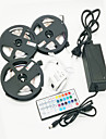ZDM Waterproo 3x5m Light Sets 900 LEDs 2835 SMD 8mm RGB Remote Control with DC12V6A  Power Cuttable IP65 Self-adhesive