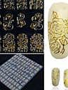 1 pcs 3D Nagelstickers nagel konst manikyr Pedikyr Chic och modern / Elegant & Lyxig / Mode Dagligen / 3D Nail Stickers