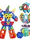 Magnetiskt block Magnetiska plattor Byggklossar 168 pcs Bilar Robotar Entreprenadmaskiner kompatibel Legoing Gåva Magnet Pojkar Flickor Leksaker Present