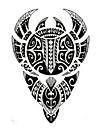1 pcs tillfälliga tatueringar Vattentät / Ogiftig brachium Tatueringsklistermärken