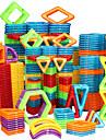 Magnetiskt block Magnetiska plattor Byggklossar 20-128 pcs Bilar Robotar Pariserhjul kompatibel Legoing Gåva Magnet 3D Pojkar Flickor Leksaker Present