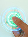 Hand spinne Handspinners Hand Spinner för att döda tid Stress och ångest Relief Focus Toy LED Spinner Kristall Plast Klassisk Barn Vuxna Pojkar Leksaker Present / LED ljus