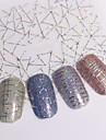 12 pcs Vattenöverföringsklistermärke nagel konst manikyr Pedikyr Mode Dagligen